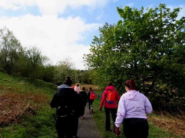 Glasgow Girls Club Hillwalk