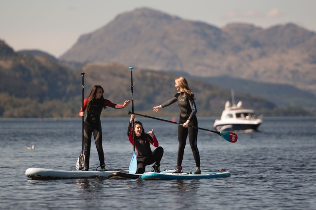 Paddle Boarding, Scotland